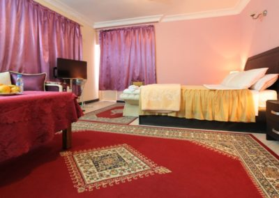 Chambre Deluxe Vue Lagune Hôtel Palais Touareg Dakhla hébergement Ad-Dakhla