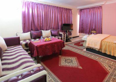 Chambre Deluxe Vue Lagune Hotel Palais Touareg hébergement Dakhla