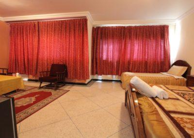 Chambre Deluxe Famille Triple Vue Lagune Hotel Palais Touareg hébergement Dakhla
