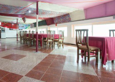 Restaurant Terrasse Vue sur Lagune Hotel Palais Touareg hébergement Dakhla