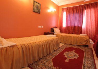 Chambre Standard Double Vue Lagune Hotel Palais Touareg hébergement Dakhla