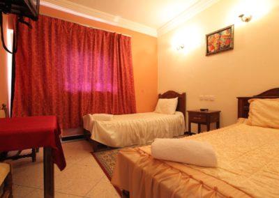 Chambre Standard Triple Vue Lagune Hotel Palais Touareg hébergement Dakhla