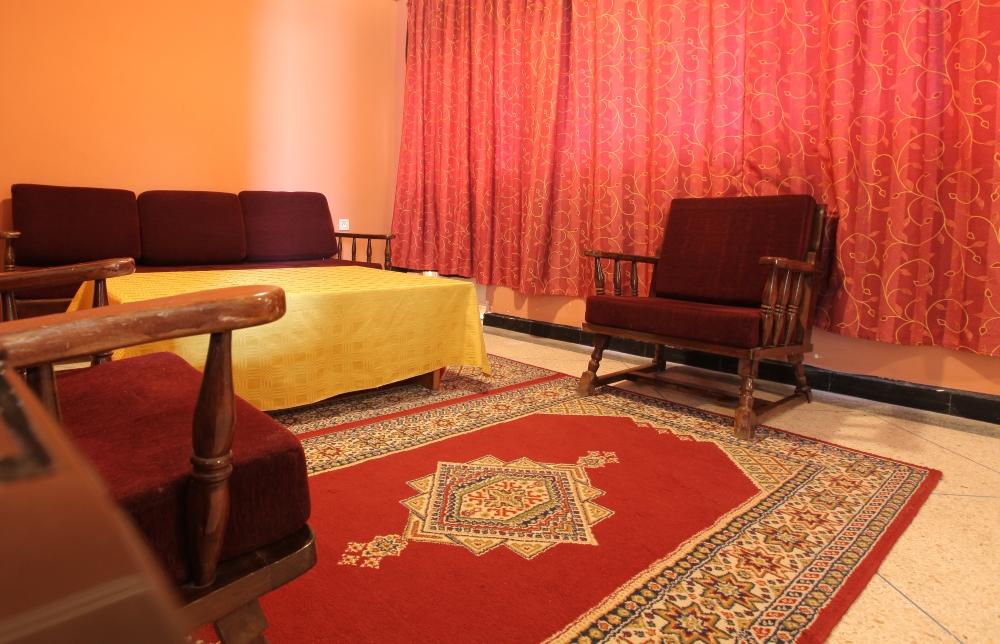 Chambre Deluxe Triple Vue Lagune Hotel Palais Touareg hébergement Dakhla