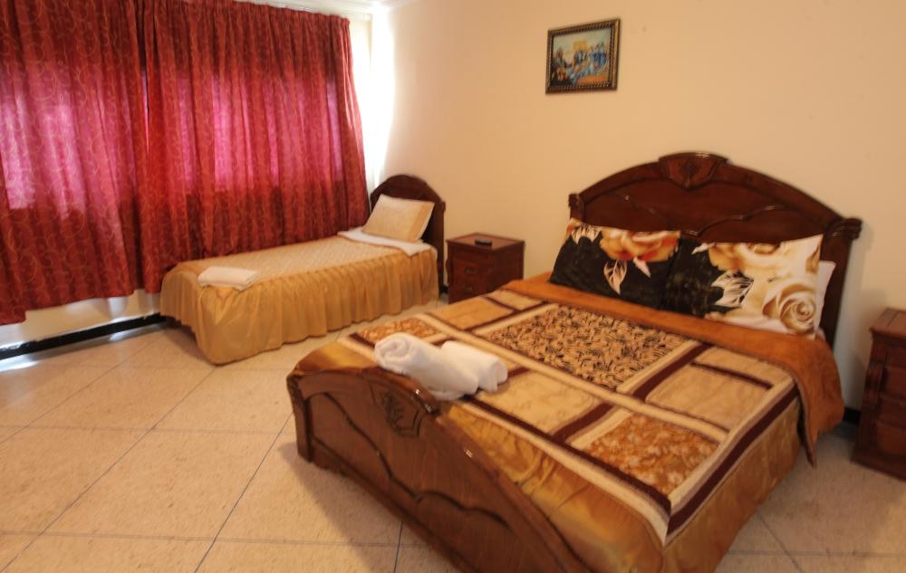 Deluxe Room Family Triple Lagoon Vue Palais Touareg Hotel Dakhla Accommodation Ad-Dakhla